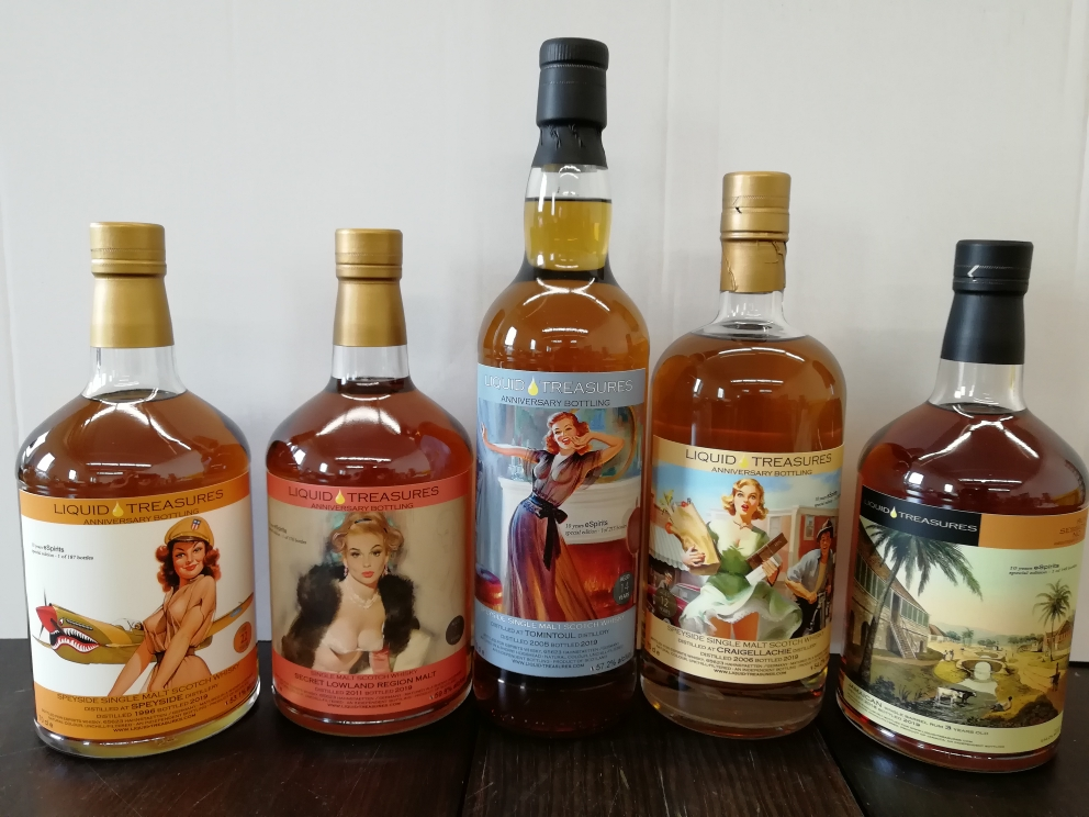 10th Anniversary bottlings 2019 - part 2